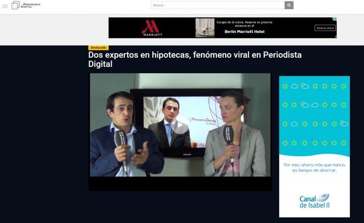 vídeo hipotecas a tipo fijo de Periodista Digital