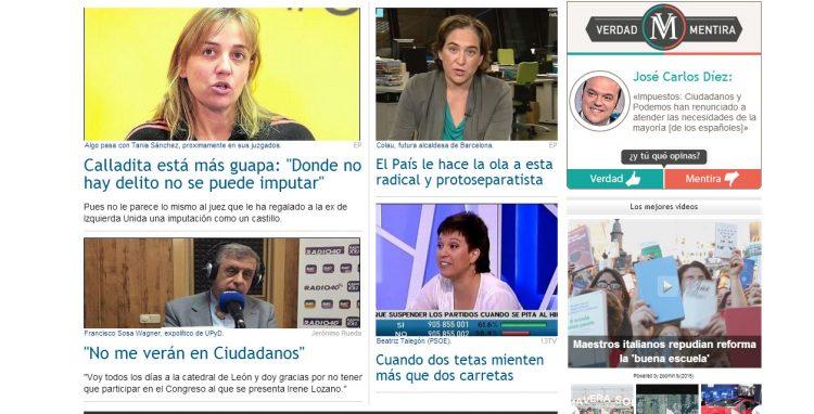 página principal de Periodista Digital
