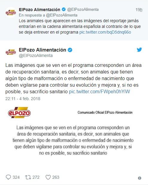 Tweets El Pozo