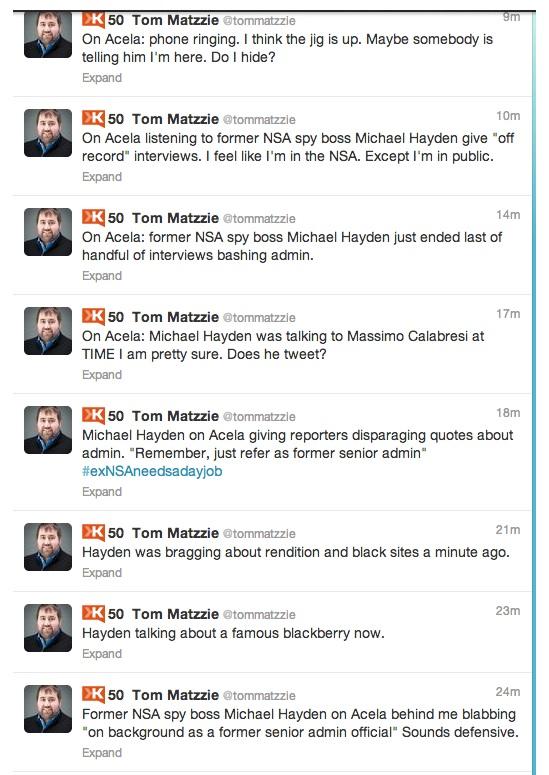 Tweets NASA