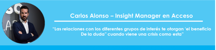 Carlos Alonso - Insight Manager en Acceso