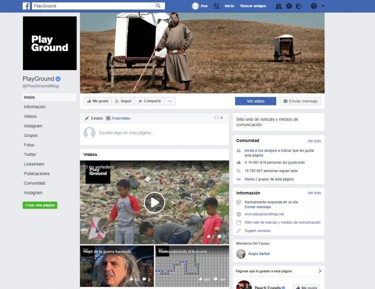 Facebook PlayGround