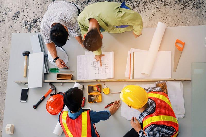 seguimiento de medios en el sector de la construcción