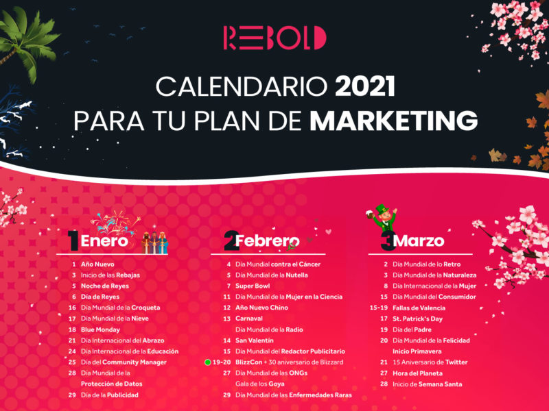 calendario de marketing 2021