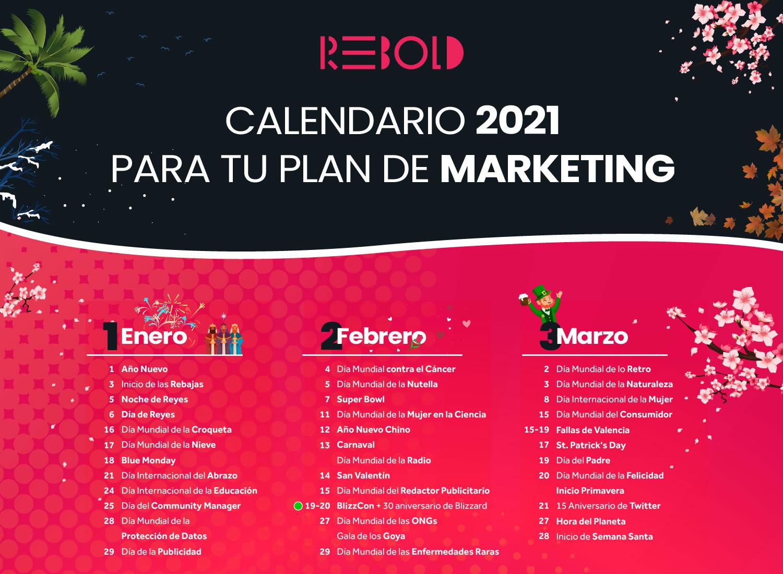 calendario de marketing 2021
