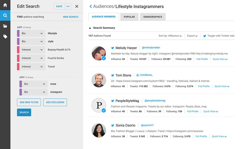 herramientas para analizar influencers: Brandwatch